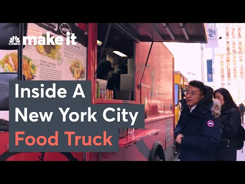 What It's Like Working On A New York City Food Truck