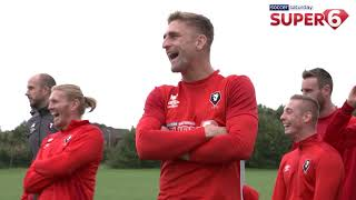 Behind the scenes as Salford City took on Jimmy Bullard in You Know The Drill