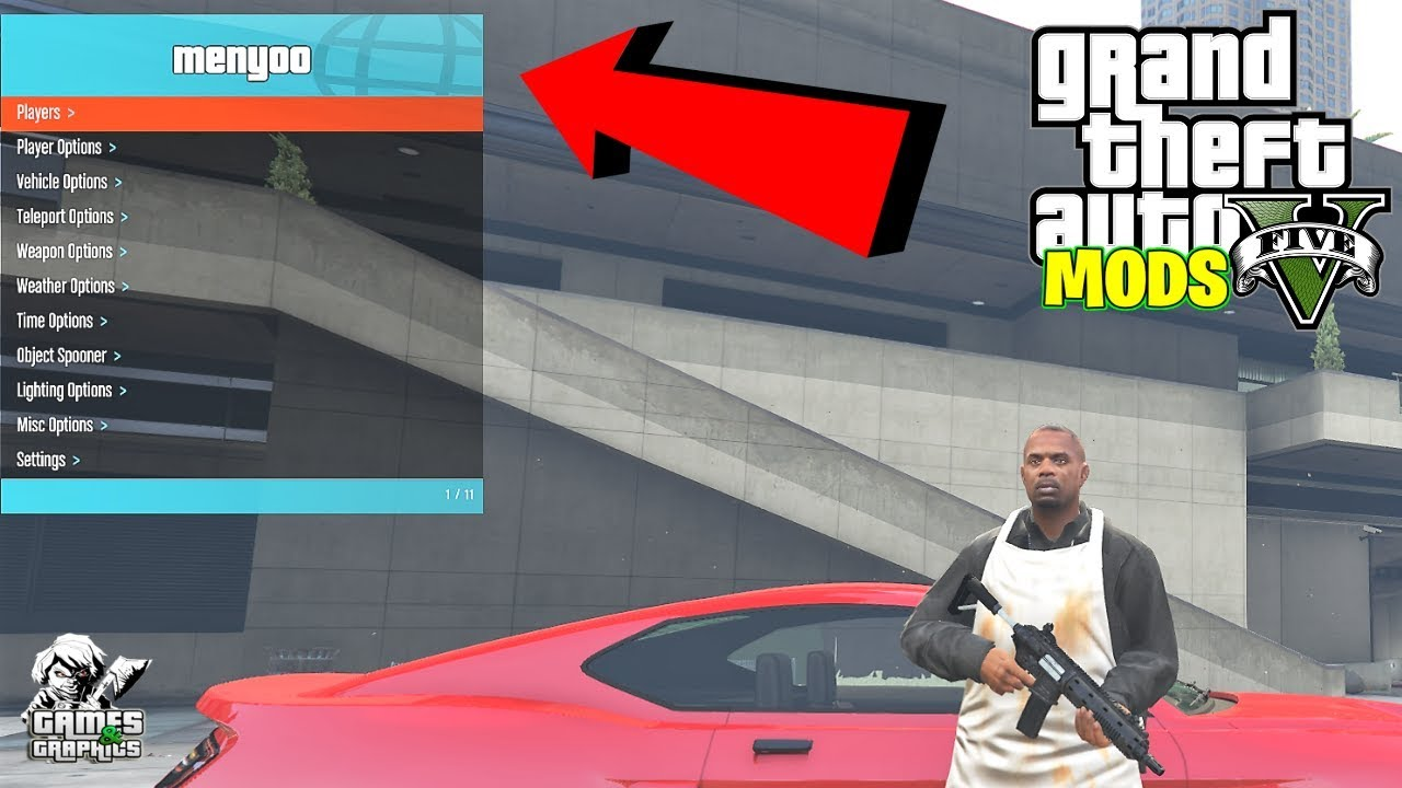 Installing MENYOO on latest version of GTA 5 (PC)