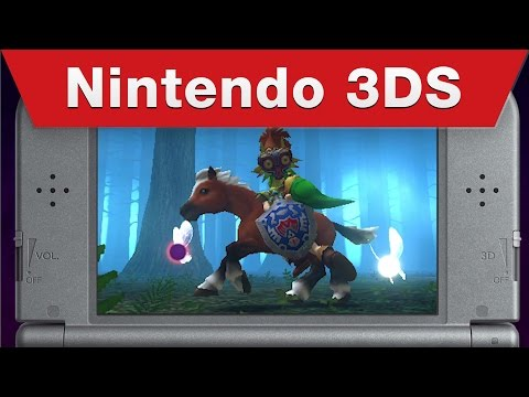 Nintendo 3DS - The Legend of Zelda: Majora's Mask 3D Accolades Trailer