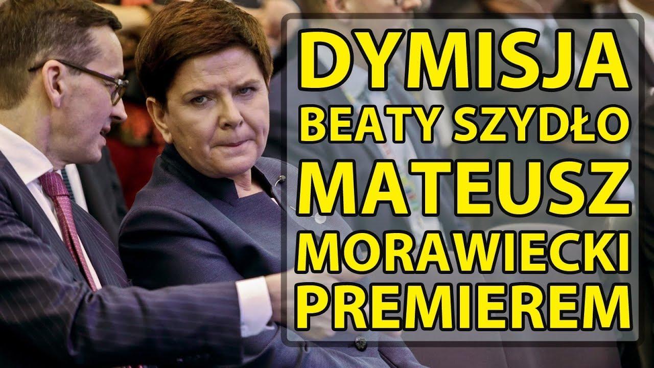 Dymisja Beaty Szydło. Mateusz Morawiecki premierem.