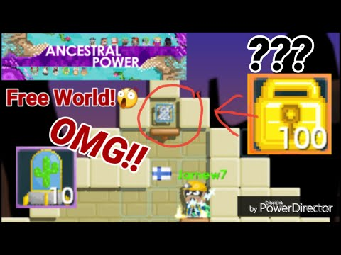 ANCESTRAL POWER Day 3 ( USING 10 DESERT BLAST ) OMG - Growtopia