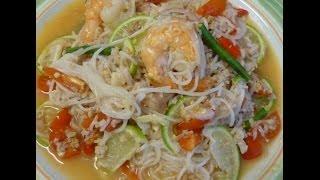 Thai Food-vermicelli Noodle Salad