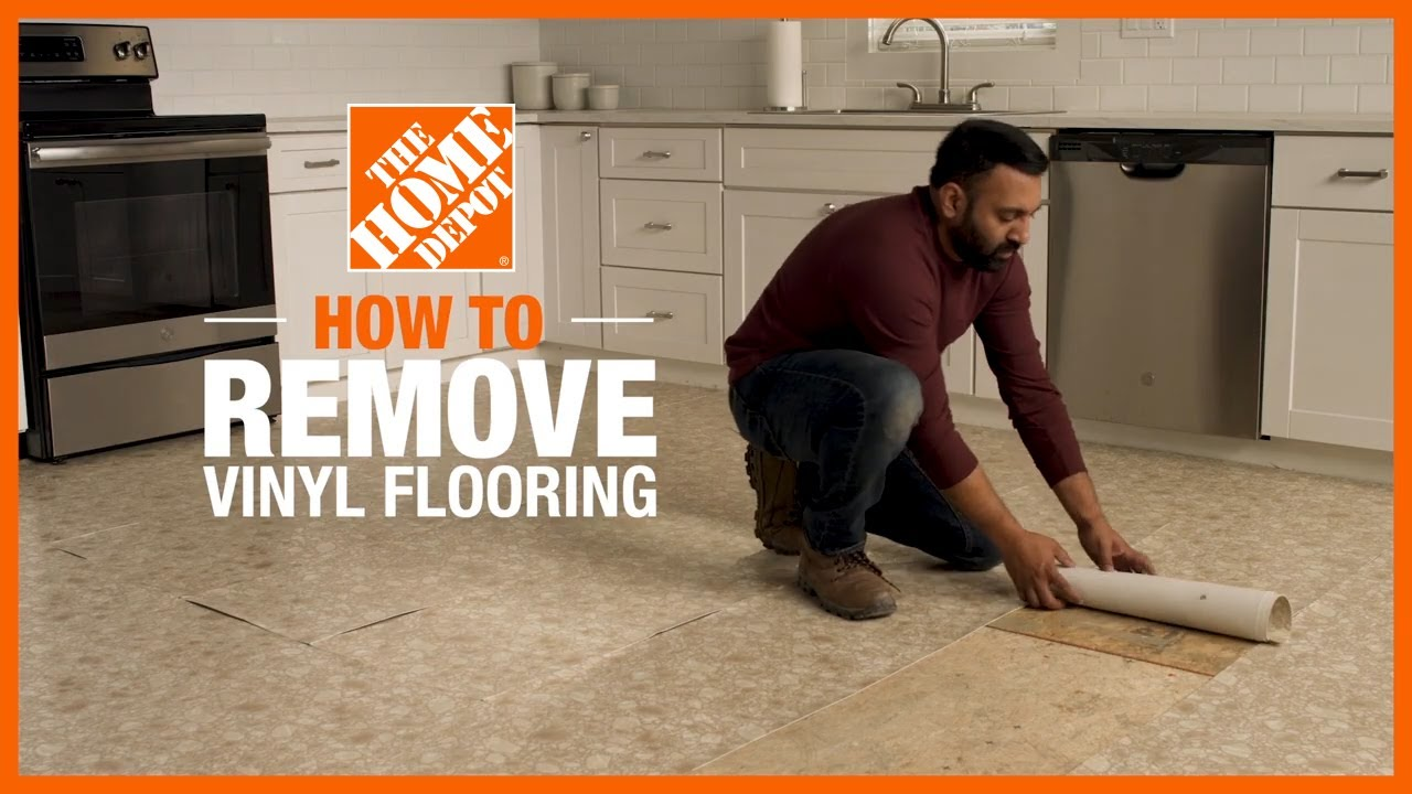 How to Remove Vinyl Flooring - The Home