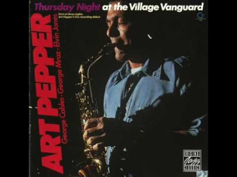 "Art Pepper — ""Thursday Night at the Village Vanguard"" [Full Album] 1977"