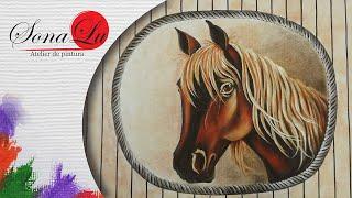 Cavalo em Courvin (Parte 1) Sonalupinturas
