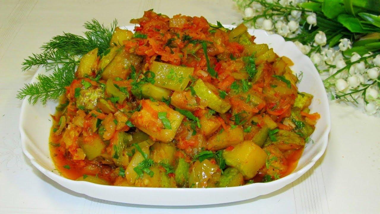 Готовим рагу из кабачков фото рецепты