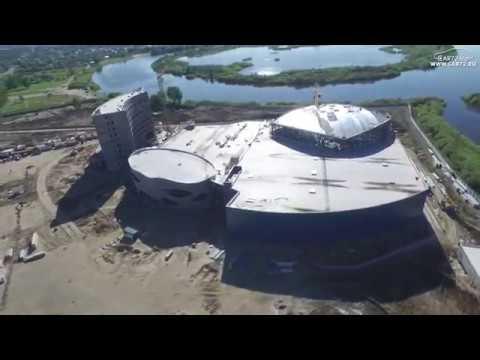 аквапарк в тюмени строительство фото