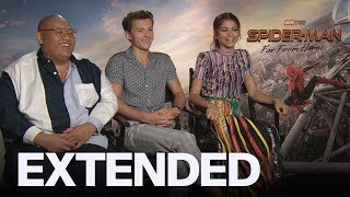 Tom Holland, Zendaya React To 'Spider-Man' Romance Rumours | EXTENDED