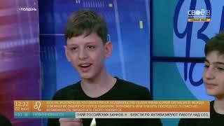 """Театр вокальной музыки""""Звёздный"""" на передаче """"Полдень"""" СВОЁ ТВ"""