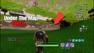 How To Gat Under The Map New Crazy God Mode Glitch!! (Fortnite Battle Royale)