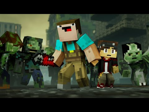 ZOMBIE APOCALYPSE (Minecraft Animation)