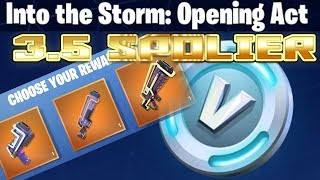 Fortnite *Spoiler* | Into The Storm | 3.5 Event | Opening Act Completed | All Rewards