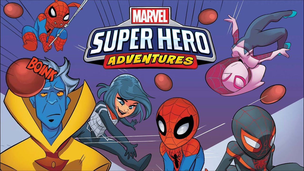 Marvel Super Hero Adventures: Across the Spider-Verse w/ Brian Q Quinn! | Marvel Read!