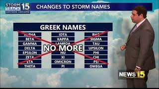 Changes in how we name Hurricanes