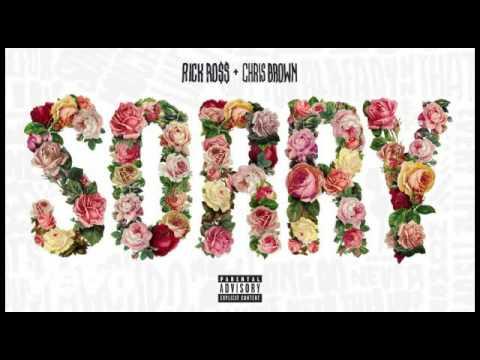 Rick Ross - Sorry ft. Chris Brown (Clean)