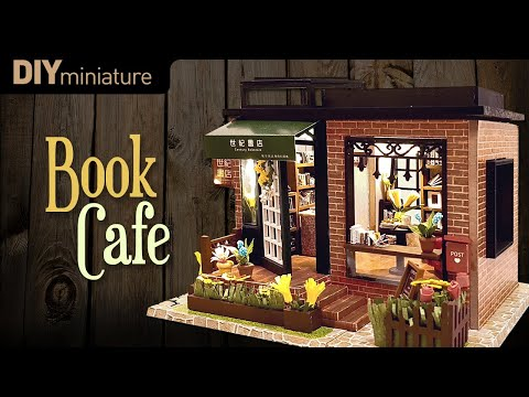 DIY Miniature House Bookcafe By Whitehousehh