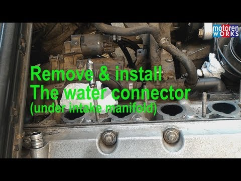#waterconnector #coolingsystem #bmw #e36m43 Remove & Install The Water Connector