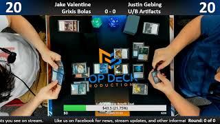 Core Set 2019 Standard Testing 7/11/18: Jake Valentine vs. Justin Gebing