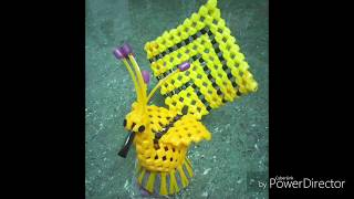 peacock Making in plastic wire model 3