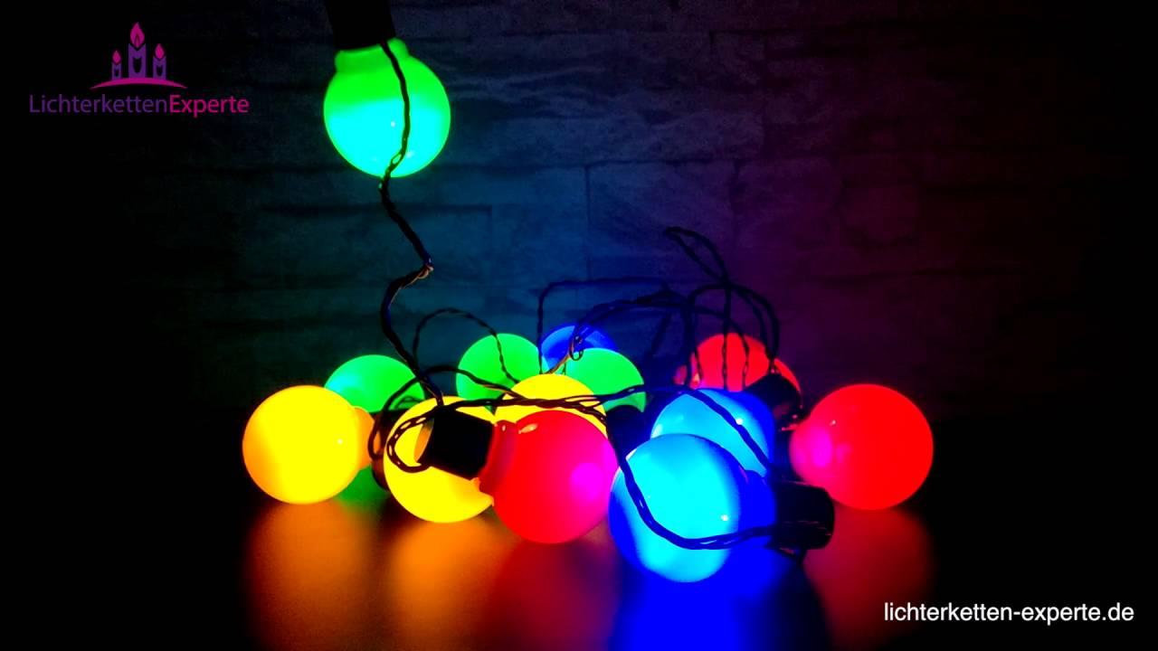 LED Partylichterkette 16 Lampen Für Den Garten Oder Den