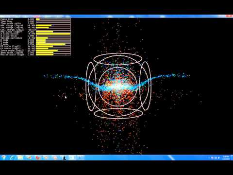 15cm polywell ~0.1 tesla phase space.wmv