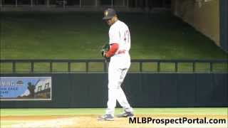 Raisel Iglesias - Cincinnati Reds RHP prospect - Arizona Fall League 2014
