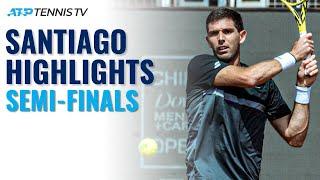 Garin vs Galan; Bagnis vs Delbonis   Santiago 2021 Semi-Final Highlights