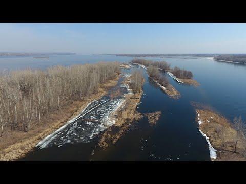 Весенняя рыбалка. Джиг. Волга. Природа.