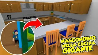 Roblox ENG-Hide and Seek. Hide and seek in the giant kitchen