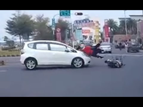Scooter Accidents and Crashes Compilation 2015