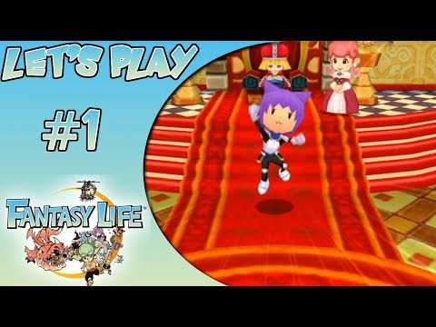 Let's Play: Fantasy Life - Ep. 1