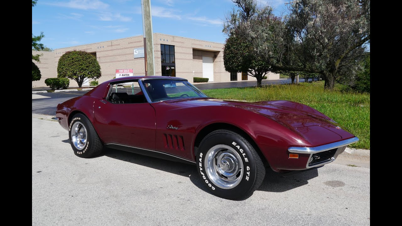 1969 Corvette Stingray >> 1969 Chevrolet Corvette Stingray For Sale Youtube
