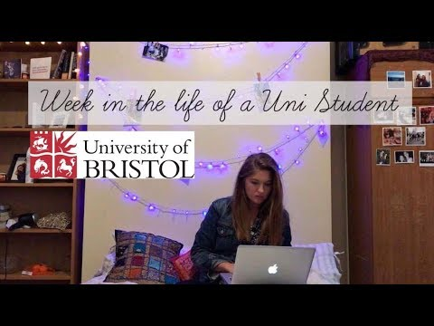 Week in the life of a University Student | Bristol University