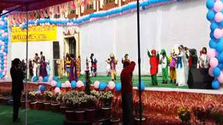 welcome Song  Annual Function Nirmala Convent School, Kathgodam