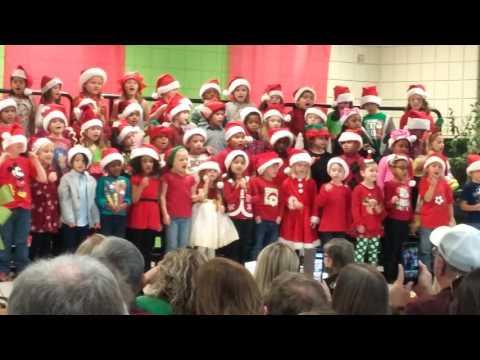 Enterprise Early Education Center Christmas program.