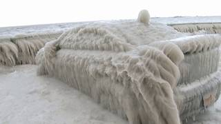 Weather Gone Viral – Ice Encased Car