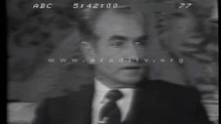 Shah of Iran Interview 1977 - OPEC