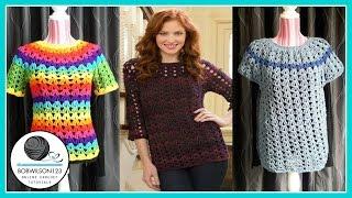 crochet tunic tutorial part 1 3 1xl 2xl 3xl