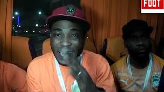 La Joie est total Pour ces  Ivoiriens qui ont fait le déplacement pour suez  Par Vincent Kamto.avi