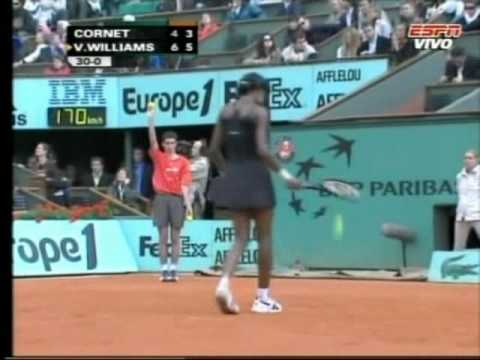 Venus Williams vs. Alize Cornet 2007