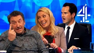 Lee Mack's ELABORATE Joke About His 'Dead Nan' | 8 Out of 10 Cats Does Countdown | Best of Lee Pt. 2