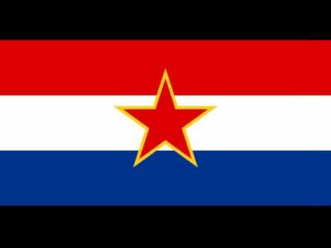 Flag of the Socialist Republic of Croatia (1945-1990)
