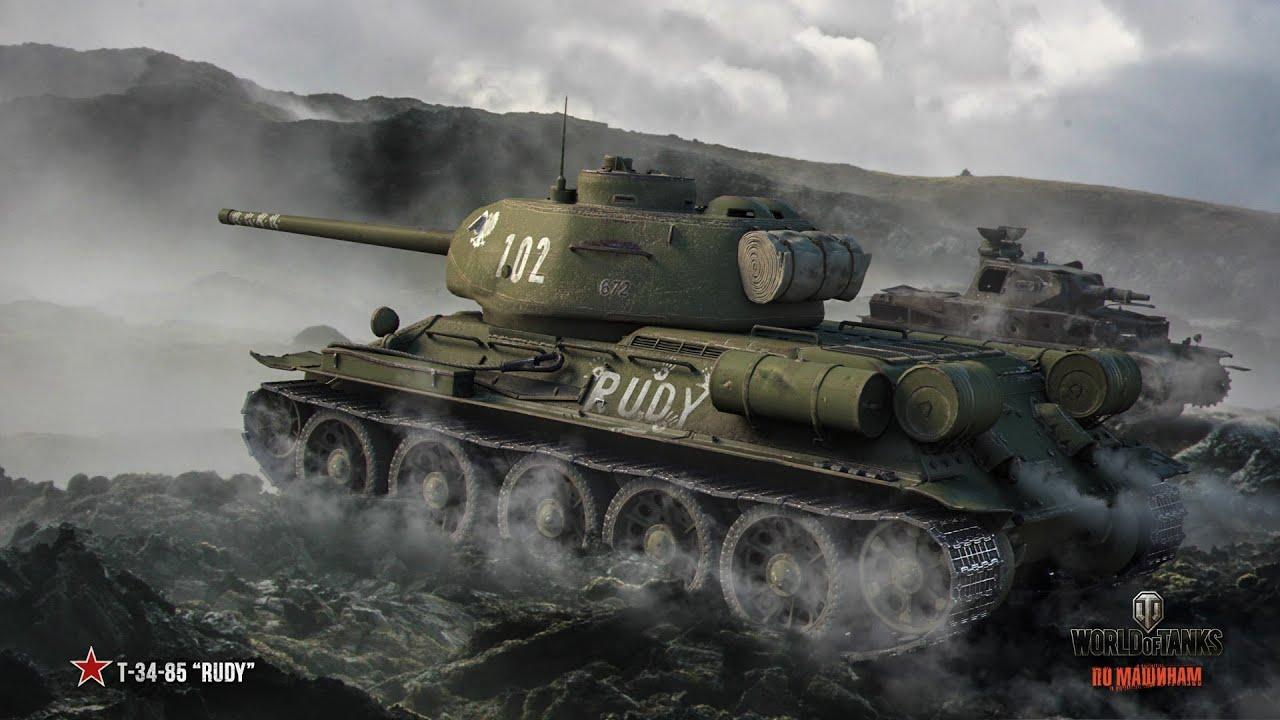 Рисунок СССР Танк Великая Отечественная война