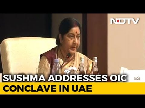 Foreign Minister Sushma Swaraj Speaks At Meet Of Islamic Nations (OIC)