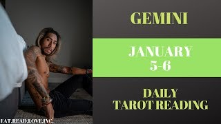 "GEMINI - ""THE EMPEROR IS STEPPING UP"" JANUARY 5-6 DAILY TAROT READING"