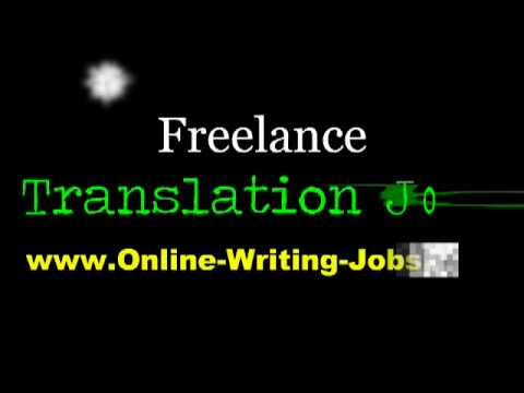 My Freelance Career : All About Freelance Translation Jobs