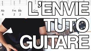 🎸 Cours de guitare - L'envie - Johnny Hallyday / Kendji Girac (tuto)