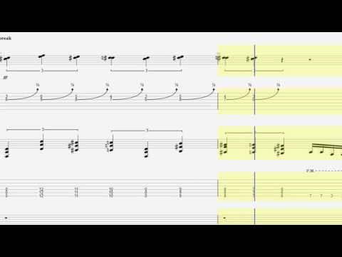 How to play Avenged Sevenfold - 4 a.m (Tabs)