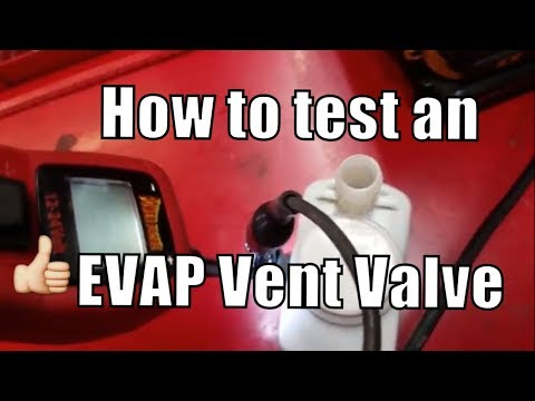 "How to Test a Evap Vent Valve ""The Most Common Cause of P0442 P0455 P0456"""